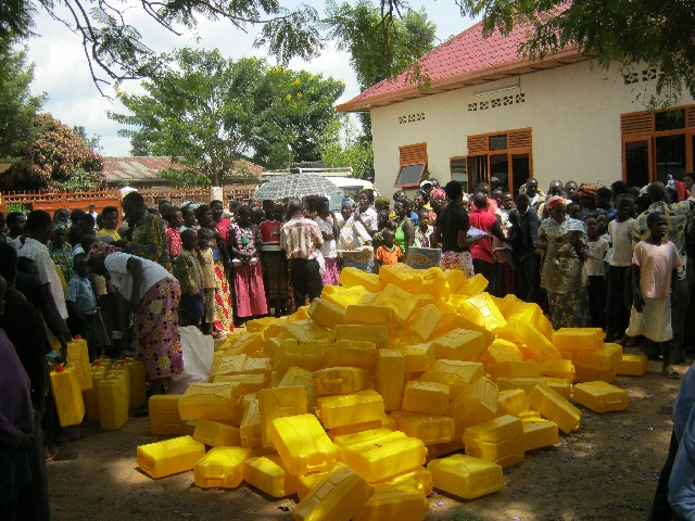 Water Container Distribution