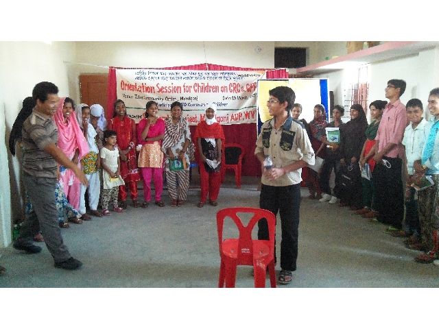 Orient Children on Child Rights & Child Protection